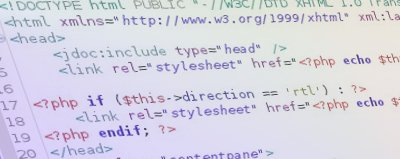 web site custom development, code